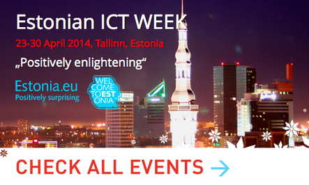Estonian ICT WEEK banner